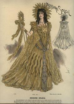Late 19th century masquerade costumes