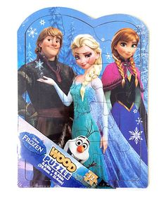 Casse-tête puzzle Frozen en bois, 3+ ans. 8.99$  Disponible en boutique ou sur notre catalogue en ligne. Livraison rapide au Québec.  Achetez-le info@laboiteasurprisesdenicolas.ca