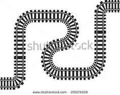 Find train track stock images in HD and millions of other royalty-free stock photos, illustrations and vectors in the Shutterstock collection. English Story Telling, Space Party, Train Tracks, Lululemon Logo, Royalty Free Stock Photos, Letters, Illustration, Decorations, Image