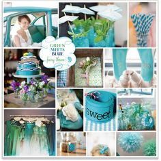 [Almost] Clover Green & Aquamarine Teal Gold Wedding, Teal And Gold, Fall Wedding, Wedding Inspiration, Wedding Ideas, Inspiration Boards, Wedding Stuff, Blue Fairy, Clover Green