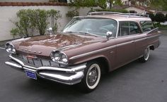 1960 Dodge Polara Station Wagon Maintenance of old vehicles: the material for new cogs/casters/gears/pads could be cast polyamide which I (Cast polyamide) can produce Chrysler Voyager, Rat Rods, Dodge Wagon, Dodge Trucks, Vintage Cars, Antique Cars, Retro Cars, Station Wagon Cars, Automobile