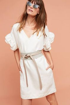 42d4ae6fa68 Shop little white dresses at Anthropologie. Find the perfect white dress  for any occasion.