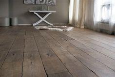 Zwaar verouderde Massief eiken houten vloer van Dutz Floors