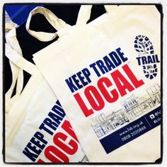 Cotton shopper bags, personalised just for you. No minimum order quantity. www.redhotsource.com