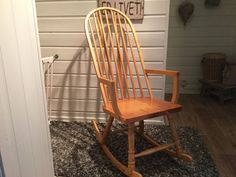 FINN – Gyngestol, budalsstol Rocking Chair, Chairs, Furniture, Home Decor, Chair Swing, Decoration Home, Room Decor, Rocking Chairs, Home Furnishings