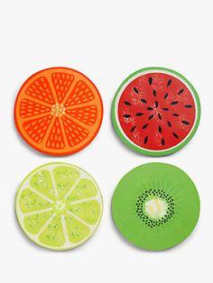 John Lewis & Partners Fruit Coasters, Set of Assorted Art Cd, Cd Wall Art, Record Wall Art, Small Canvas Art, Diy Canvas Art, Cd Diy, Indie Room Decor, Cd Crafts, Vinyl Art