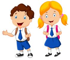 school children 135 png clip art cartoon kids and school rh pinterest co uk
