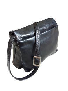 f88f3939b2 Details about Vintage DEREK ALEXANDER full flap Genuine soft black leather  Organizer Crossbody