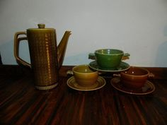 Boch retro servies
