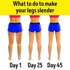 What to do to make your legs slender . How to Slim Down Legs & Get Skinny Legs & Thighs. Are you wondering how to get skinny legs? Over the past few years, I have met with hundreds of girls who all face the same problem. They all want to look elegant, fem Fitness Workouts, Fitness Motivation, Easy Workouts, At Home Workouts, Gym Fitness, Skinny Leg Workouts, Rogue Fitness, Fitness Equipment, Physical Fitness