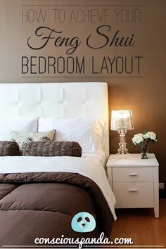 What is the best Feng Shui bedroom layout? Well, the best answer to that is specific to everyone. Based on your energy and other feng shui readings, you can Bedroom Fung Shui, Feng Shui Master Bedroom, Tranquil Bedroom, Home Bedroom, Bedroom Decor, Feng Shui Rules Bedroom, Bedroom Sets, Feng Shui Layout, Feng Shui Bedroom Layout