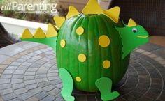 Pumpkin decorating ideas for the anti-carving mom Halloween Pumpkins, Halloween Crafts, Holiday Crafts, Holiday Fun, Halloween Decorations, Pumpkin Decorations, Halloween Foods, Kid Crafts, Festive