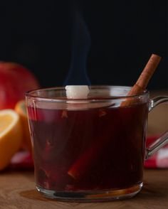 Spiced Wine Fire Punch