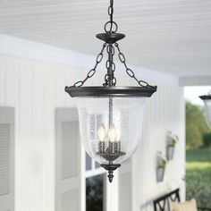 af089b0e0b8 You ll love the Maxillaria 3-Light Outdoor Pendant at Wayfair - Great Deals