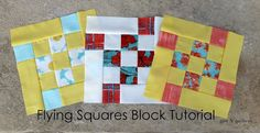 Gen X Quilters - Quilt Inspiration | Quilting Tutorials & Patterns | Connect: Flying Squares Block Tutorial