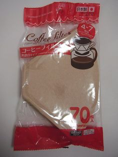 Daiso Coffee Filter Paper -[4-7cups cups of coffer] Brown 70 pieces -- Find out more about the great product at the image link.