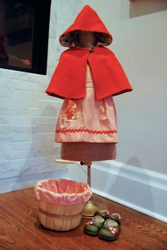 Love this Red Riding Hood cape