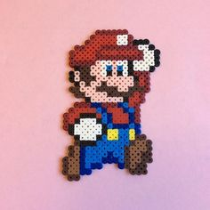 Mario perler beads by the_perlair