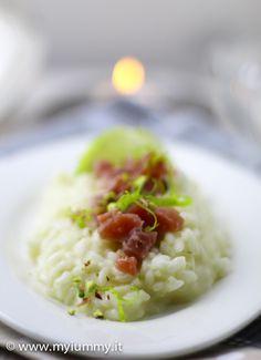 risotto lime tonno marinato