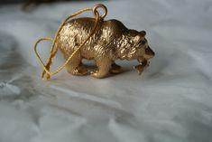 diy golden animal ornaments
