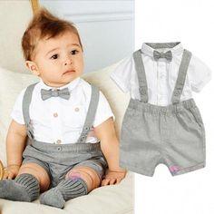 Bébé Né en 2020 Teddy Bear brodé Babygrow Sleepsuit Rouge Blanc Unisexe Nouveau