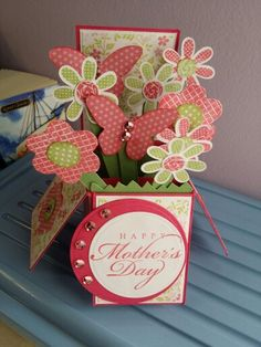 Mother's Day card in a box!