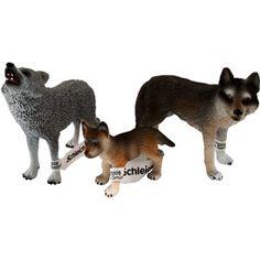 wal 15- Schleich Wolf Family Figurine Set
