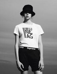 Natalie Westling for i-D Magazine by Willy Vanderperre