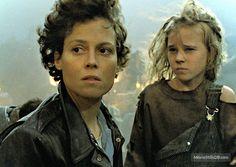 Aliens (1986) Sigourney Weaver and Carrie Henn