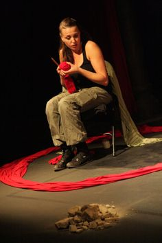 "From The Best of the Fest Benefit Performer: Sariyah Idan during her work ""Homeless in Homeland"""