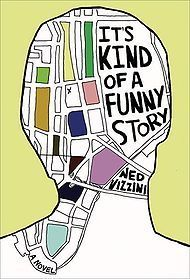 """""""It's Kind of a Funny Story"""" by Ned Vizzini! This book is one of those feel good books. Were everything at first is going wrong, but it is all resolved at the end. I love this book. Ya Books, Great Books, Amazing Books, Story Books, Ed Sh, Historischer Roman, Margaret Atwood, Funny Stories, A Funny"""