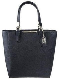 5d4f720ab9 Coach Madison North South Tote in Black North South