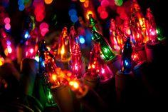 I love Christmas lights.