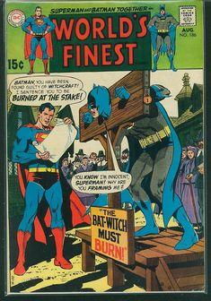 World's Finest Comics #186 VG+: $0.99 (0 Bids) End Date: Sunday Feb-25-2018 15:08:35 PST Bid now | Add to watch list