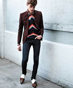 men's fashion & style - Janis Ancens by Kevin Sinclair for Essential Homme...