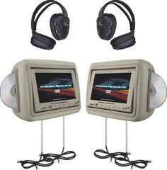 Power Acoustik HDVD9BG Car Displays & Video Player