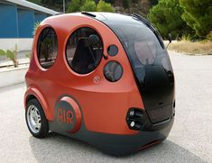 Airpod air powered car. What about speed bumps or potholes?