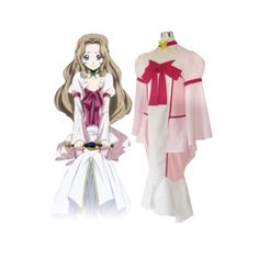 Code Geass Lelouch Of The Rebellion Nunnally Lamperouge Cosplay Costume For Sale