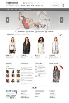OC15430011 - Premium OpenCart 1.5 Fashion Store Template