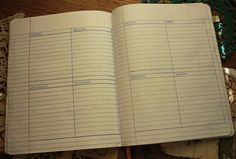 homeschool planner weekly page