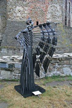 Claudio Botterro. Metal Art Sculpture, Steel Sculpture, Metal Worx, Welding Art Projects, Steel Art, Forging Metal, Scrap Metal Art, Found Art, Iron Art