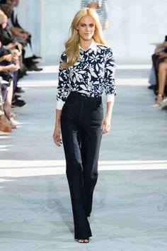 Diane Von Furstenberg Spring 2015. See all the best runway looks from #NYFW here: