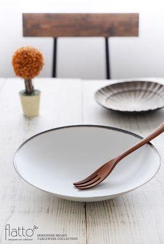 古白磁 口銅彩鉢/作家「水野幸一」/和食器通販セレクトショップ「flatto」