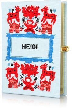 olympia le-tan heidi embroidered clutch