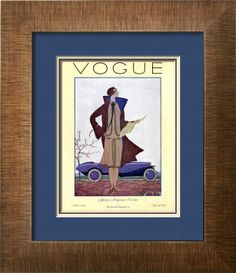 Vogue Cover - March 1926 Poster Print by Georges Lepape at the Condé Nast Collection
