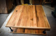 Coffee Table made from salvaged barn boards Barn Boards, Wood Creations, Reclaimed Barn Wood, Craftsman, Modern Furniture, Cool Designs, Traditional, Coffee, Table