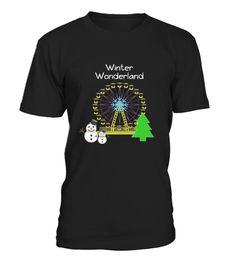 Top Shirt Carnival Winter Wonderland front
