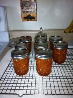 Peach Zucchini Pineapple Jam