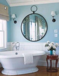 blue bathroom #badezimmer #bathroom
