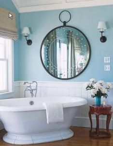 blue bathroom #badezimmer #bathroom